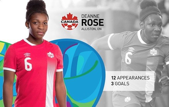 OWSL player Deanne Rose heads to Rio to represent Canada this summer!